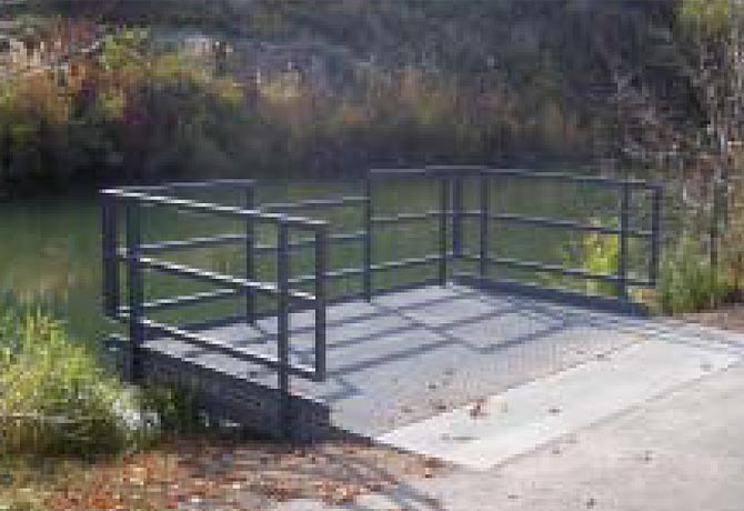 Composite Fishing Platform
