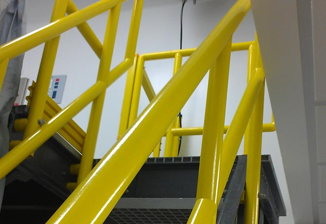 Composite Round Handrail