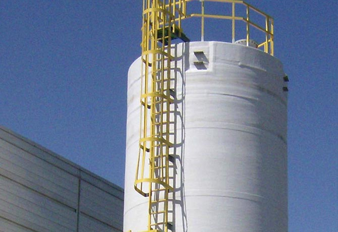 Water Tank Stairs : Fiberglass ladders ultra systems