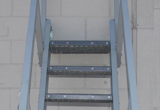 Composite Ships Ladder