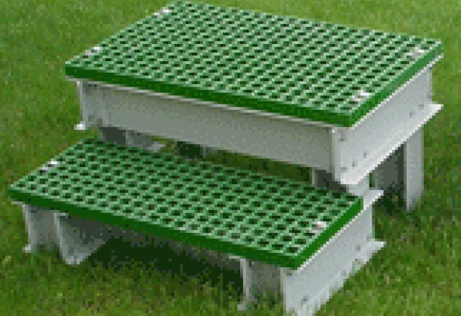 Composite Step Platforms